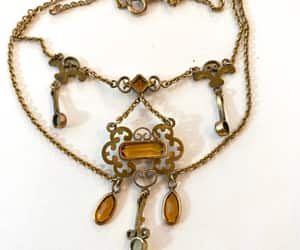 bridal necklace, etsy, and victorian jewelry image