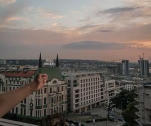 Belgrade, friendship, and sunset image