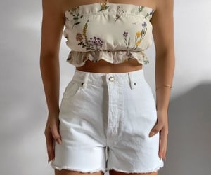 bracelet, outfit, and shorts image
