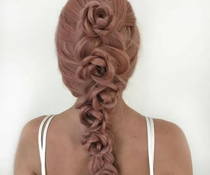 hair, moda, and belleza image