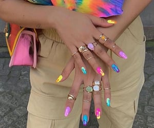 nails, fashion, and aesthetic image