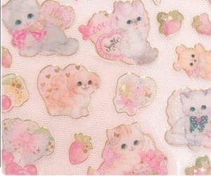 kittens, pattern, and backgrounds image