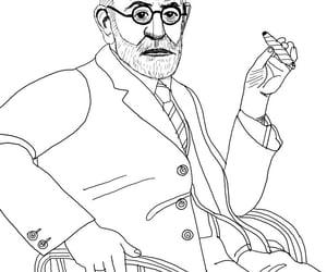 author, cartoon, and portrait image