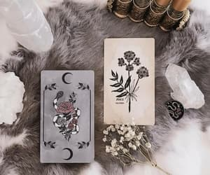 magic, witch, and cards image