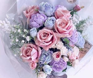 bouquet, flowers, and garden image