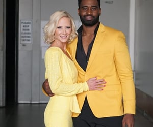 anne heche, yellow, and dancing with the stars image