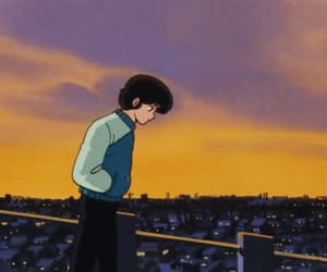 gif, loop, and retro anime image