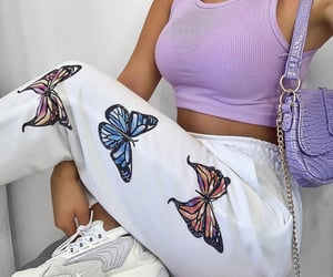 butterfly, style, and fashion image