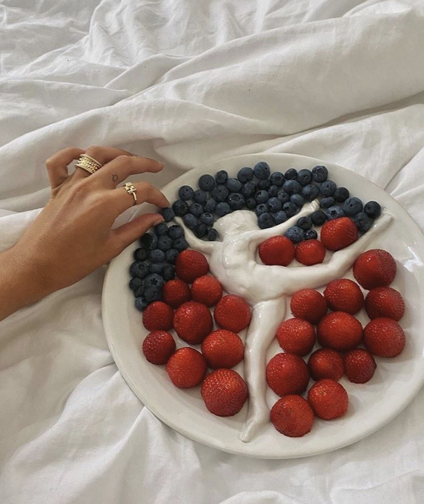 aesthetic, art, and berries image