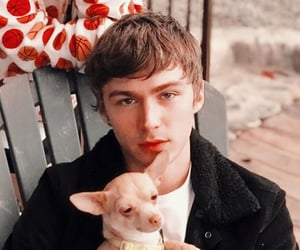 dog, 13 reasons why, and miles heizer image