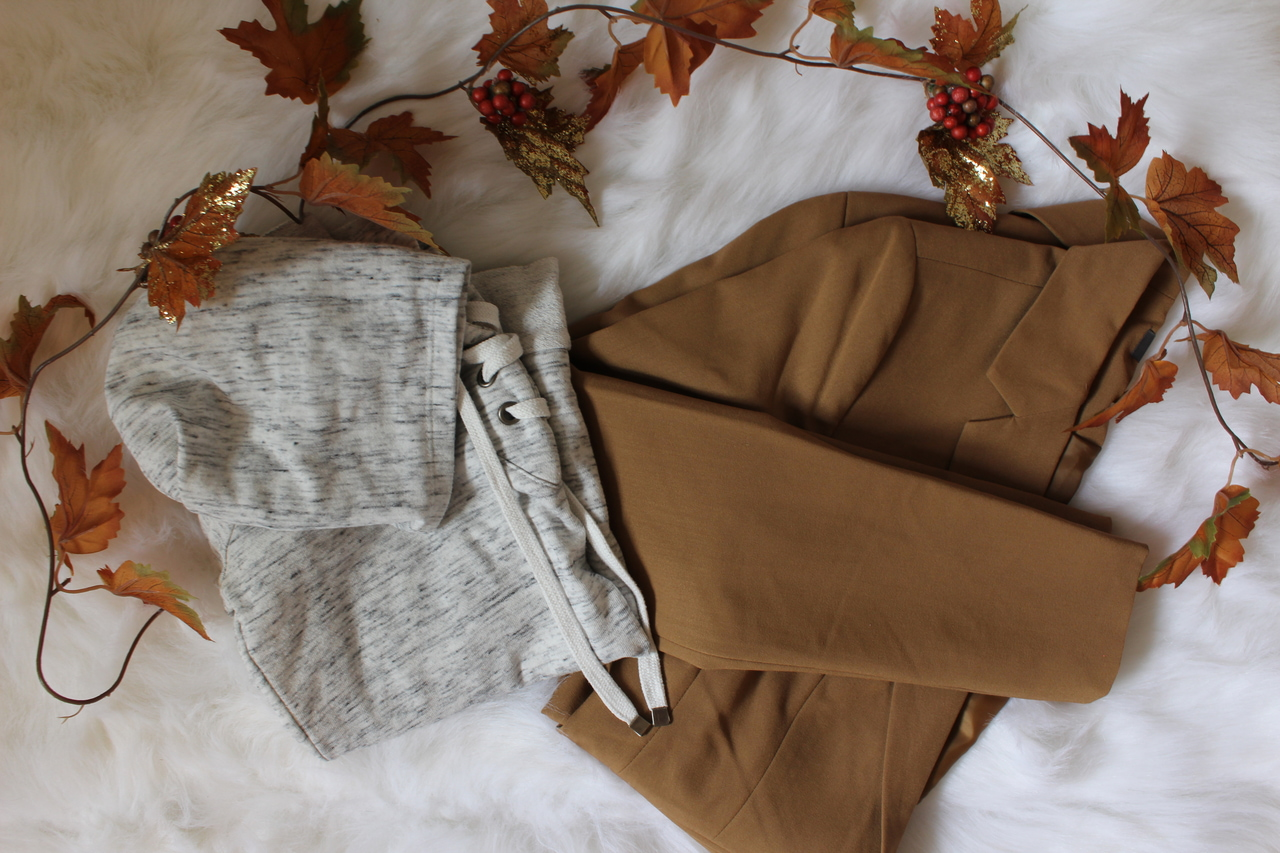 autumn, blazer, and fall image