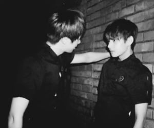 taejin, seokjin, and boyfriends image