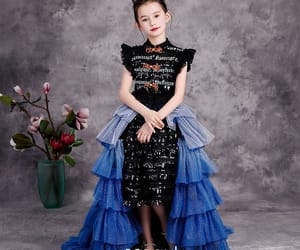 birthday dress, fashion, and glitter tulle image