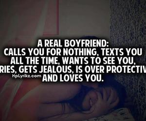 love, boyfriend, and text image