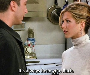 Jennifer Aniston, rachel green, and love image