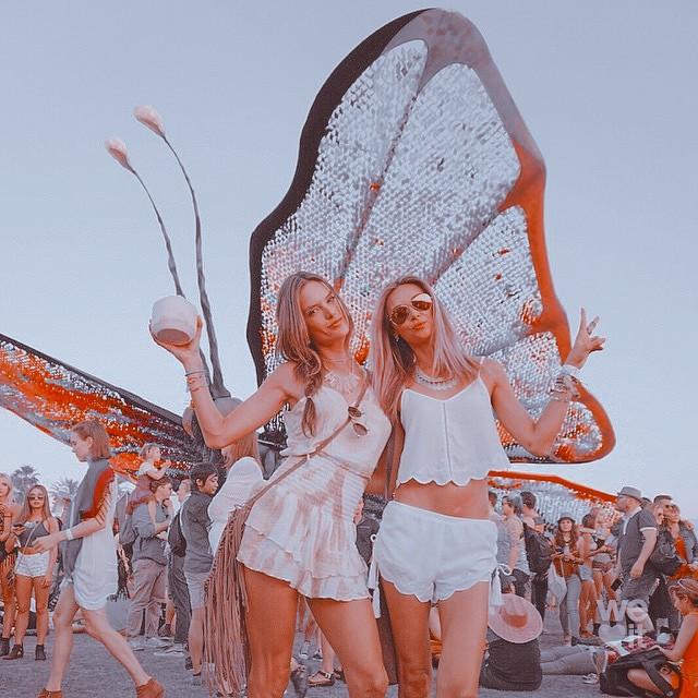 coachella, festival, and alessandra ambrosio image