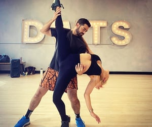dancing with the stars, sharna burgess, and jesse metcalfe image