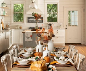 autumn, decorating, and kitchen image
