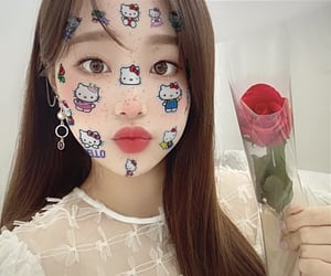 cyber, hello kitty, and kpop icon image