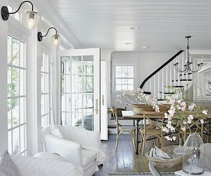 country living, decor, and white image
