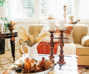 autumn, decorating, and home image