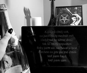 czech, satanism, and dark image