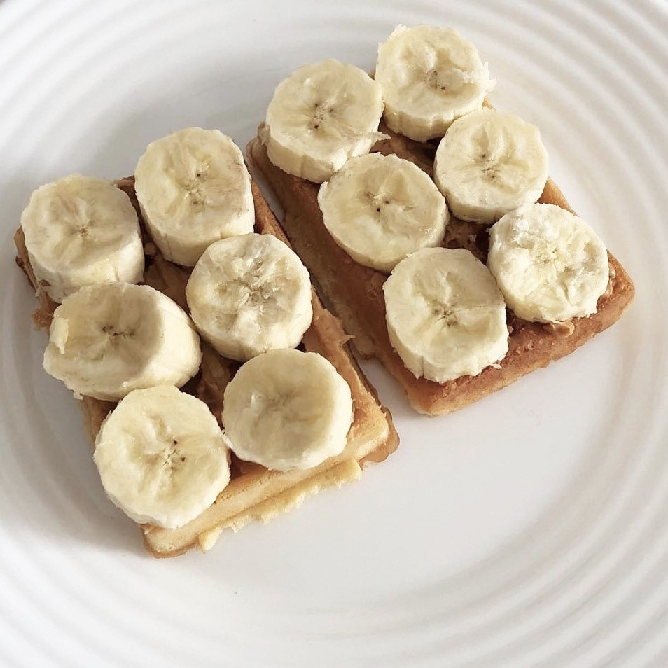 breakfast, food, and banana image