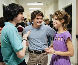 behind the scenes and stranger things image