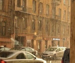 rain and street image