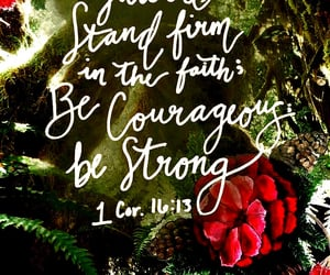 firm faith, 1 cor.16:13, and on your guard image