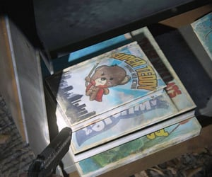 bear, book, and superhero image