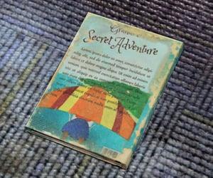 adventure, book, and secret image