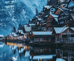 austria, winter, and europe image