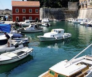 adriatic sea, Dalmatia, and harbour image
