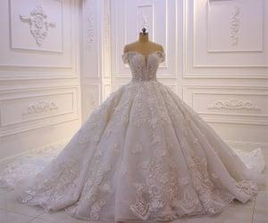 dress, hochzeit, and wedding image
