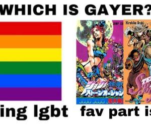anime, jojo, and reactions image