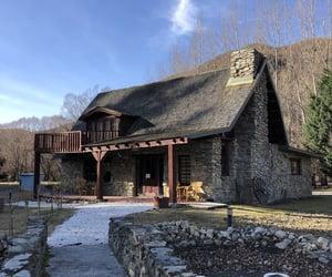 cottage, winter, and wonderful image