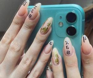 nail, Nude, and ногти image