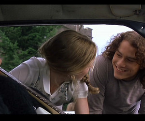 love, 10 things i hate about you, and heath ledger image