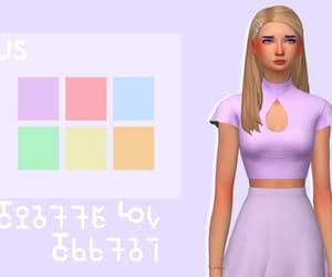 ts4, ts4cc, and sims 4 image