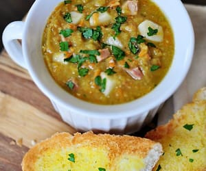 Autumn Delights ~ Split pea Soup