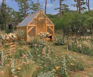 aesthetic, cottagecore, and flowers image