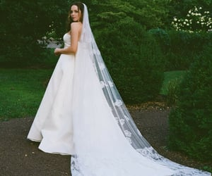 beautiful, pretty, and wedding dress image