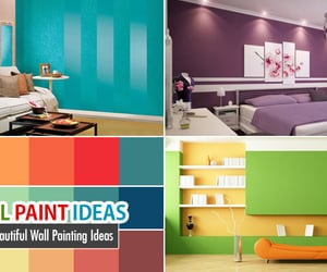 interior, interior design, and wall painting ideas image