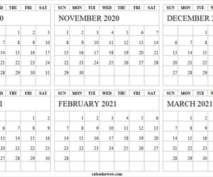 march 2021, november, and october image