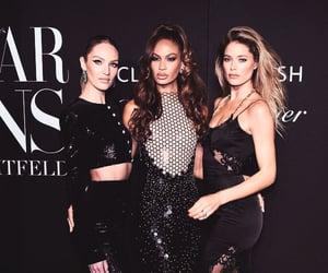black dress, fashion, and victoria's secret image