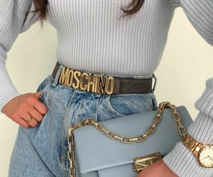 fashion, look, and Moschino image