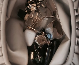 bag, beige, and glasses image