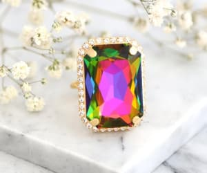 big ring, statement ring, and trending jewelry image