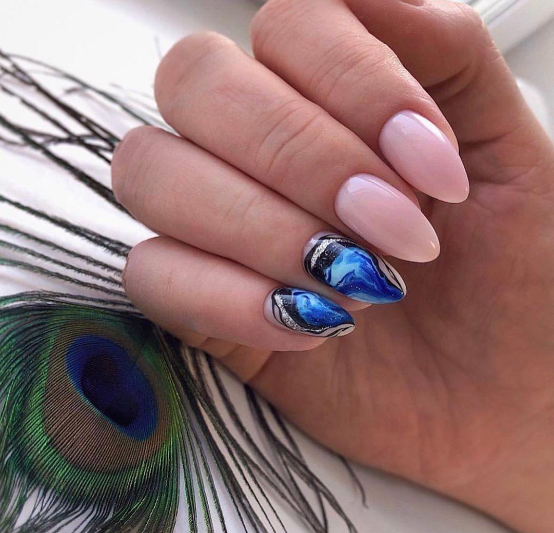 nail polish, nails, and nailpolish image